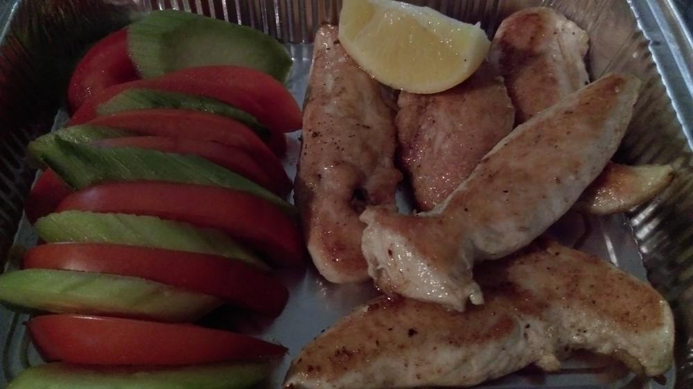 Пилешки бон филенца с гарнитура