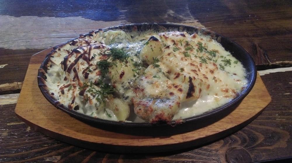 Картофи с 3 вида сирена