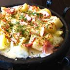 Картофи с шунка на фурна